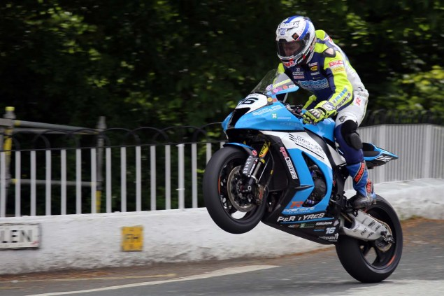 IOMTT: Ballaugh Bridge with Richard Mushet 2014 Isle of Man TT Ballaugh Bridge Richard Mushet 09 635x423