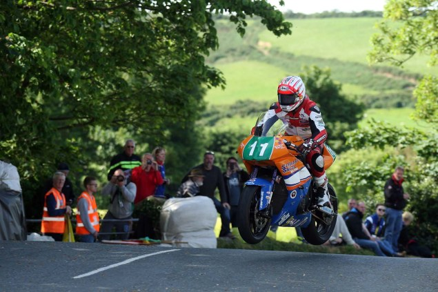 IOMTT: Ballaugh Bridge with Richard Mushet 2014 Isle of Man TT Ballaugh Bridge Richard Mushet 10 635x423