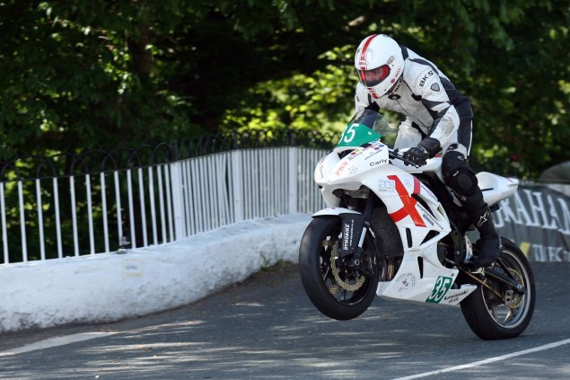 IOMTT: Ballaugh Bridge with Richard Mushet 2014 Isle of Man TT Ballaugh Bridge Richard Mushet 11 635x423
