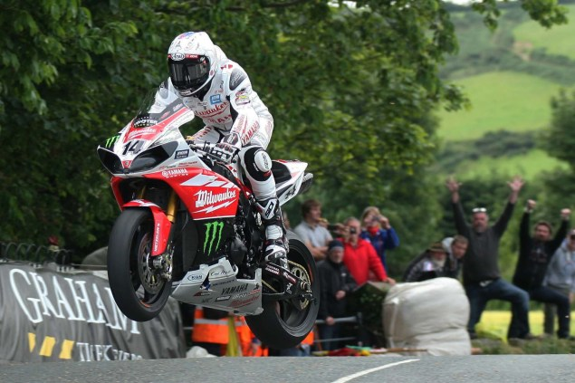IOMTT: Ballaugh Bridge with Richard Mushet 2014 Isle of Man TT Ballaugh Bridge Richard Mushet 14 635x423