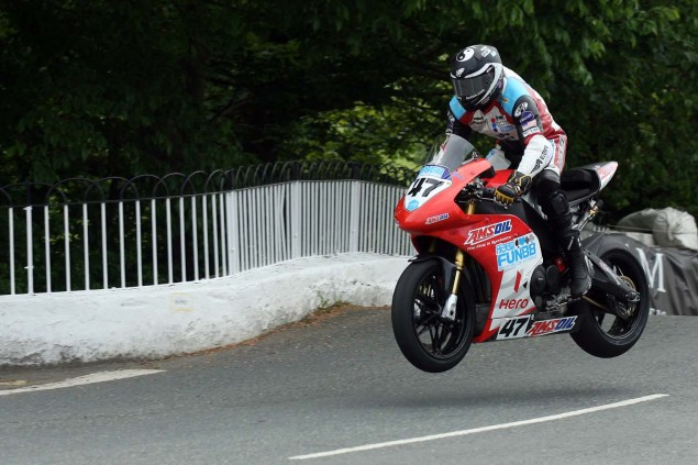 IOMTT: Ballaugh Bridge with Richard Mushet 2014 Isle of Man TT Ballaugh Bridge Richard Mushet 17 635x423