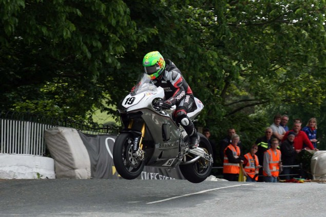 IOMTT: Ballaugh Bridge with Richard Mushet 2014 Isle of Man TT Ballaugh Bridge Richard Mushet 22 635x423