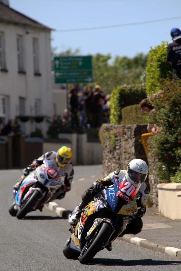 IOMTT: Ballaugh with Richard Mushet 2014 Isle of Man TT Ballaugh Richard Mushet01 635x952