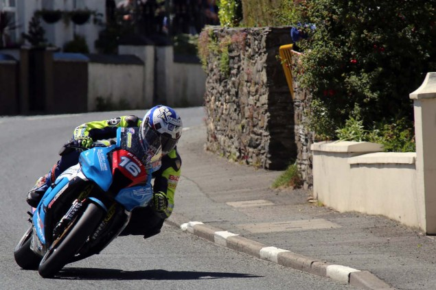 IOMTT: Ballaugh with Richard Mushet 2014 Isle of Man TT Ballaugh Richard Mushet03 635x423