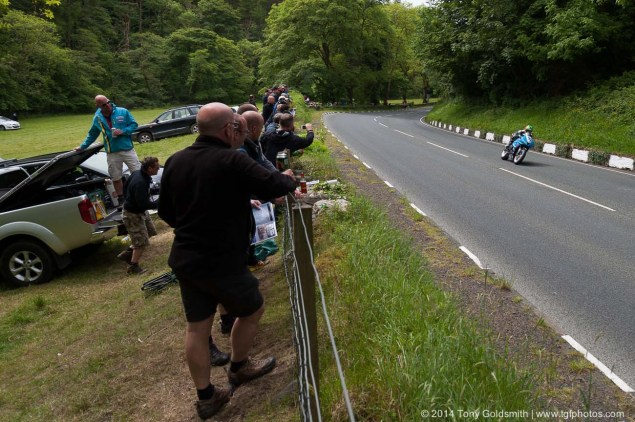 IOMTT: Glen Helen with Tony Goldsmith 2014 Isle of Man TT Glen Helen Tony Goldsmith 55 635x422