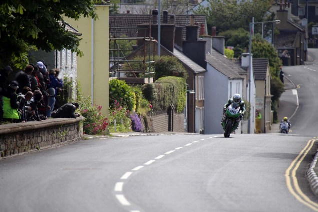 IOMTT: Kirk Michael with Richard Mushet 2014 Isle of Man TT Kirck Michael Richard Mushet 12 635x423