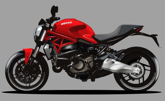 2015 Ducati Monster 821 Mega Gallery 2015 Ducati Monster 821 design 07 635x391