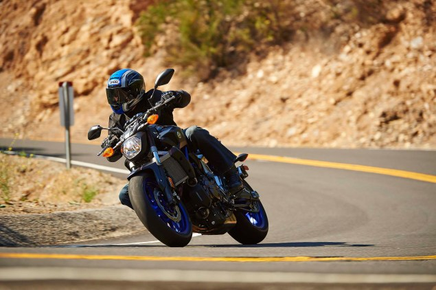Dont Call It the MT 07, Yamaha FZ 07 Coming to the USA 2015 Yamaha FZ 07 action 05 635x422