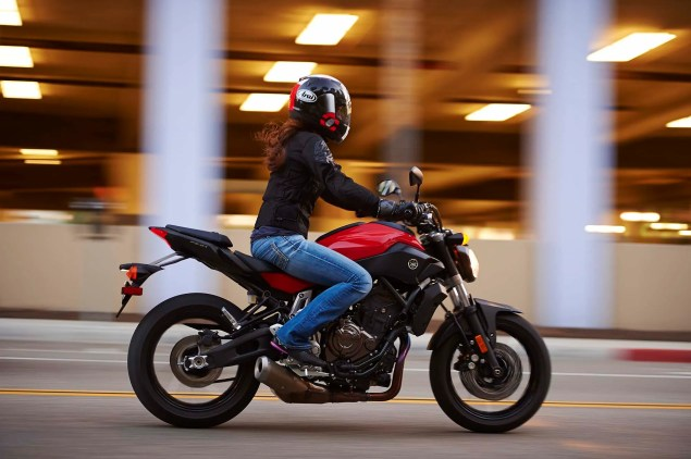 Dont Call It the MT 07, Yamaha FZ 07 Coming to the USA 2015 Yamaha FZ 07 action 18 635x422