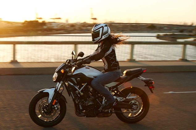 Dont Call It the MT 07, Yamaha FZ 07 Coming to the USA 2015 Yamaha FZ 07 action 29 635x422