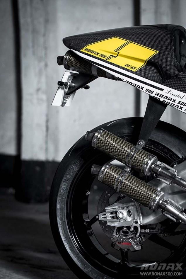 Ronax 500   Your Modern 500cc Two Stroke Track Bike Ronax 500 launch 16 635x952