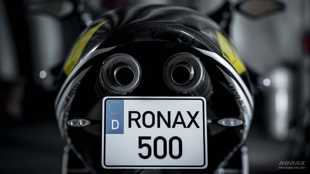 Ronax 500   Your Modern 500cc Two Stroke Track Bike Ronax 500 launch 20 635x357