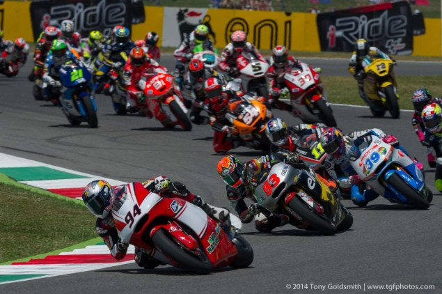 Is Moto2 To Blame for a Lack of Grip During MotoGP Races? Sunday Mugello Italian GP MotoGP Tony Goldsmith 10 635x422