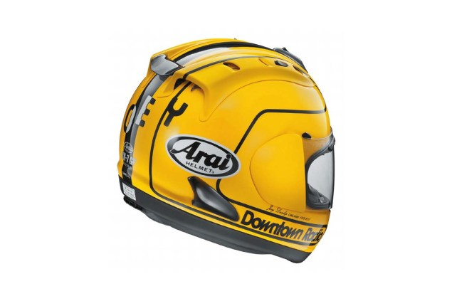Arai Launches Joey Dunlop Replica Helmet for Classic TT Arai RX7 GP Joey Dunlop replica helmet 03 635x423