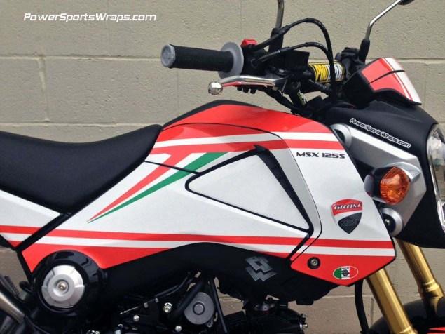 Honda Grom + Ducati Monster = Gromcati Gromcati Ducati Monster Honda Grom X Speed Motorland 10 635x476