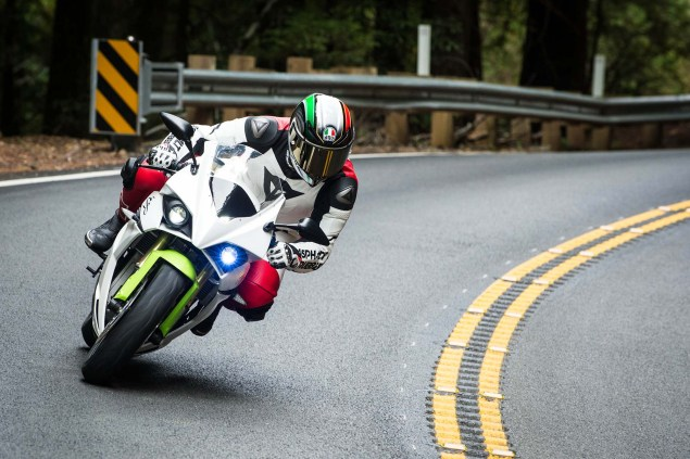 Ride Review: Energica Ego Jensen Beeler Energica Ego electric superbike launch Scott Jones 02 635x423