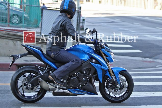 Suzuki GSX S1000 Naked Bike Spotted in the Wild 2015 Suzuki GSR1000 spy photo 2 635x421