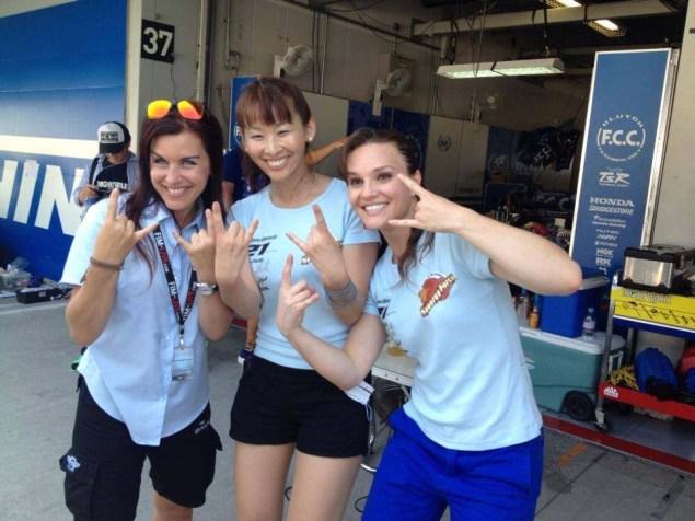 She'z Racing at Suzuka — Game Face, Race Day (Days 3 & 4) Shez Racing Suzuka 4 Hour Shelina Moreda Melissa Paris Race 15 635x476