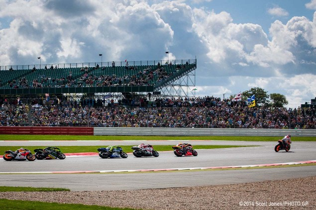 Sunday Summary at Silverstone: Three Great Races, A Fast Ducati, & A Tough Home Round for British Riders Sunday MotoGP Silverstone British GP Scott Jones 021 635x423
