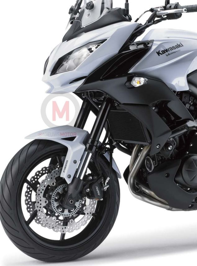 2015 Kawasaki Versys 650 Photos Leak Ahead of INTERMOT 2015 Kawasaki Versys 650 2 635x856