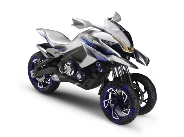 Yamaha 01GEN Three Wheeler Dual Sport Concept Yamaha 01GEN Concept 03 635x475