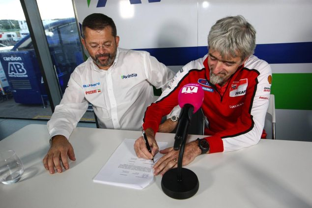 Avintia Switches to Open Ducati   Starting at Aragon? avintia racing ducati corse motogp 635x423