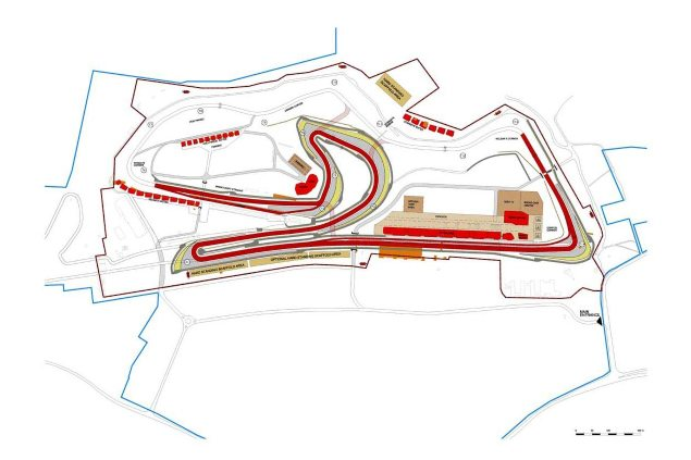 MotoGP: Donington Park Will Host British GP in 2015 donington park track map 635x423