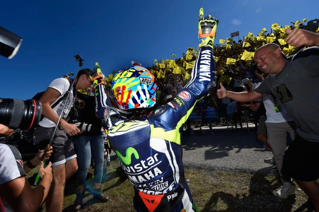 Sunday Summary at Misano: The Legend Returns valentino rossi misano motogp movistar yamaha 635x423