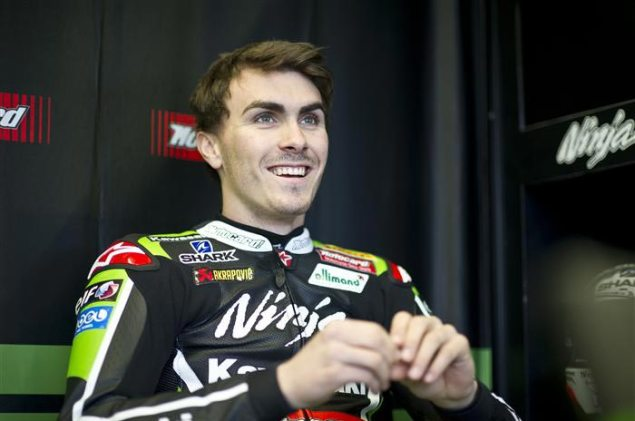 MotoGP: Loris Baz Confirmed with Forward Racing for 2015 Loris Baz Kawasaki Racing 635x421