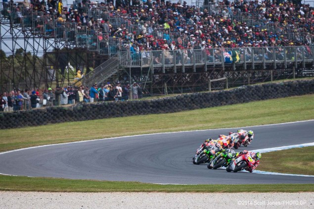 Sunday Summary from Phillip Island: Why the MotoGP Race Was Not a Tire Fiasco, & Rossi Reaps Rewards Sunday MotoGP Phillip Island Scott Jones 06 635x423