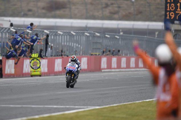 MotoGP: Race Results from Motegi jorge lorenzo motogp motegi yamaha 635x423