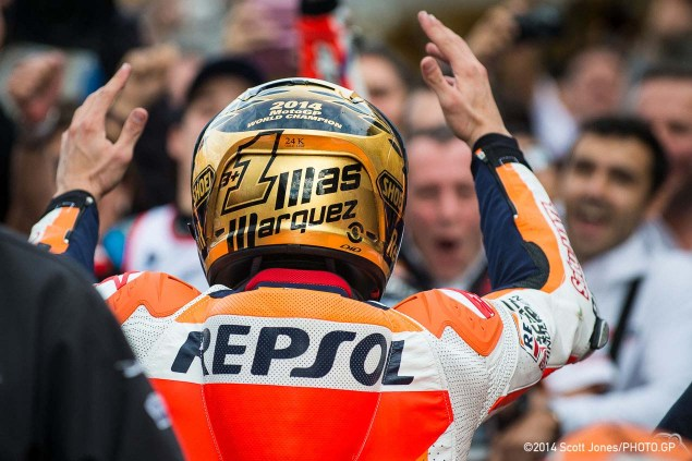Sunday Summary from Valencia: Of Dodgy MotoGP Weather, Fuel Issues in Moto2, and Miller vs. Marquez in Moto3 2015 Sunday MotoGP Valencia Scott Jones 13 635x423