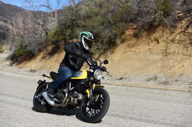 A Non Hipster Review of the Ducati Scrambler Ducati Scrambler Icon launch Palm Springs 06 635x423