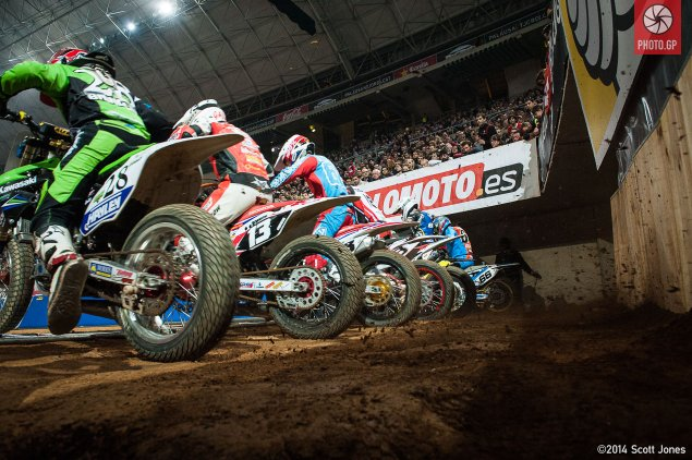 Saturday at the Superprestigio with Scott Jones Superprestigio 2014 Heat Start 635x422