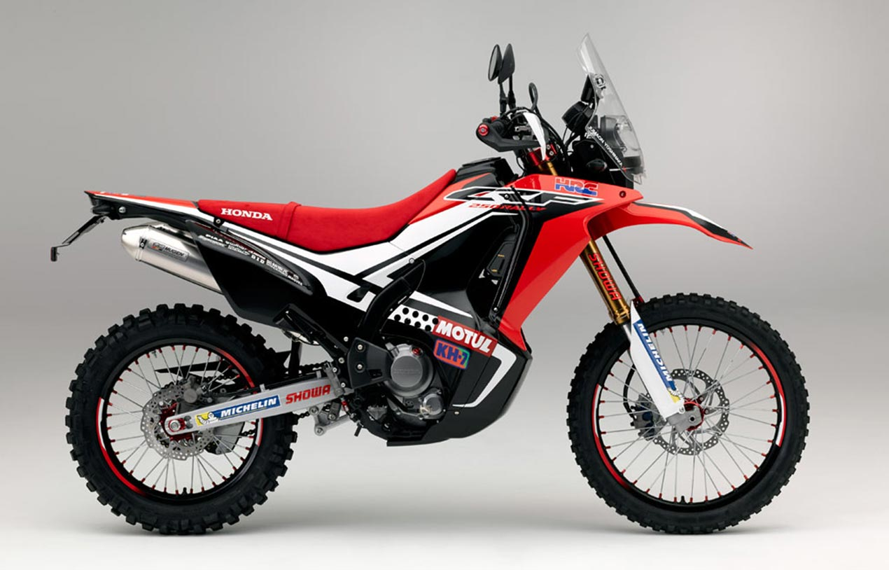 Honda CRF250 Rally concept, the 250cc production equivalent to Honda