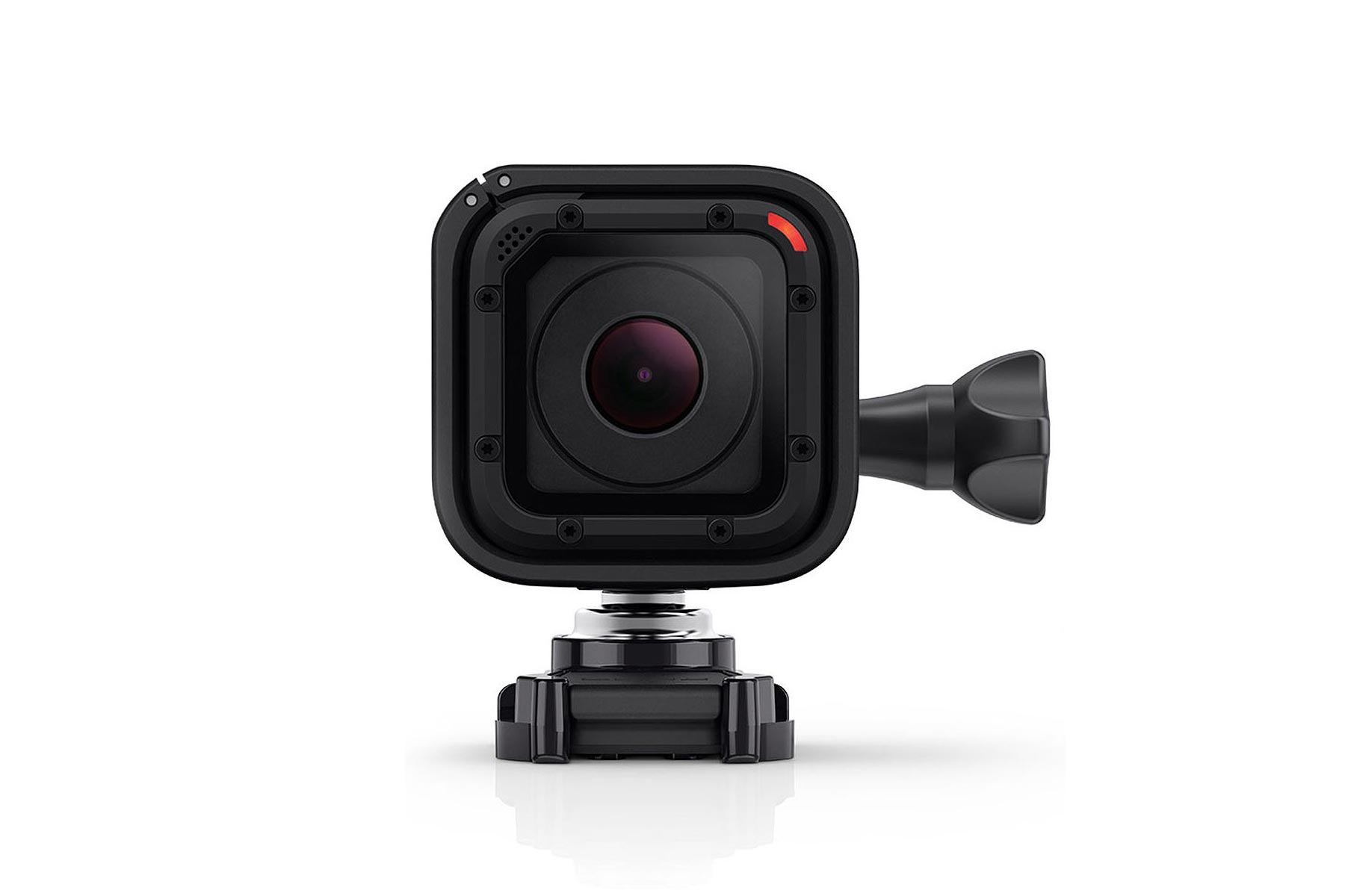 gopro hero4 session a smaller gopro video camera asphalt rubber. Black Bedroom Furniture Sets. Home Design Ideas