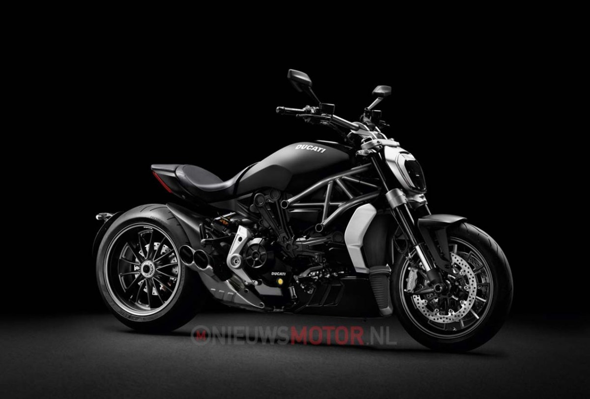 This is the Ducati XDiavel Power Cruiser