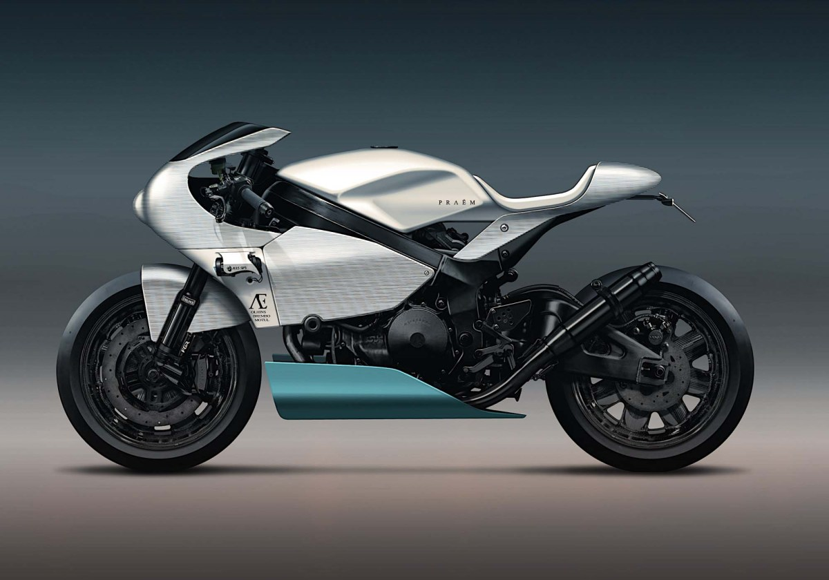 Praëm SP3 - A Modern Take on the Honda RC-51
