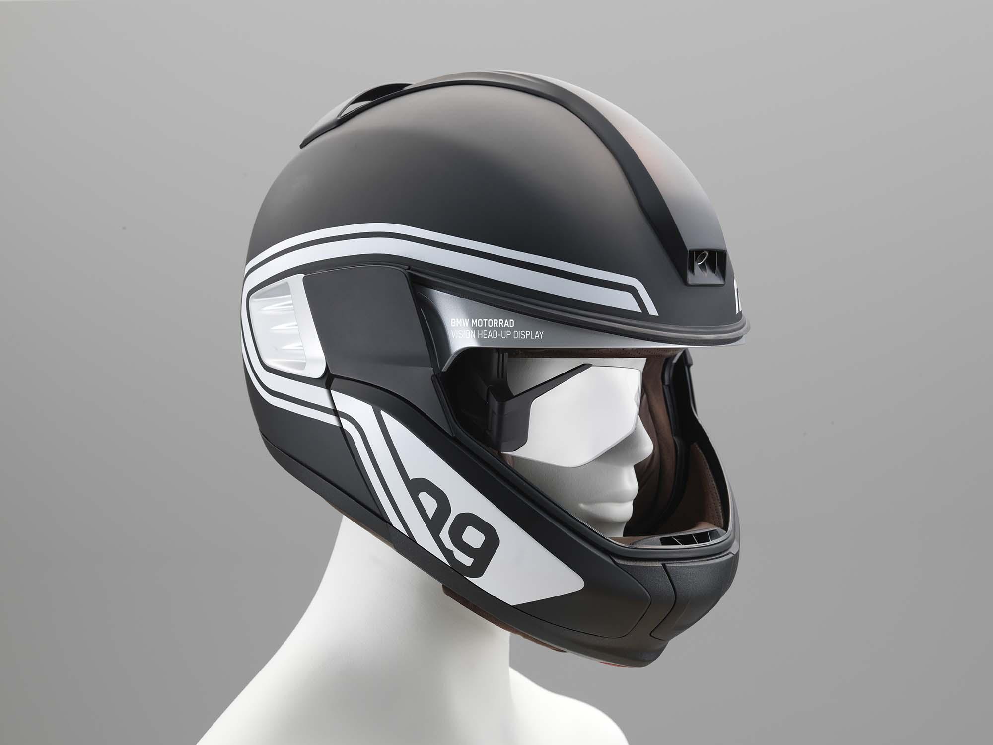 bmw helmet bmw developing hud motorcycle helmet
