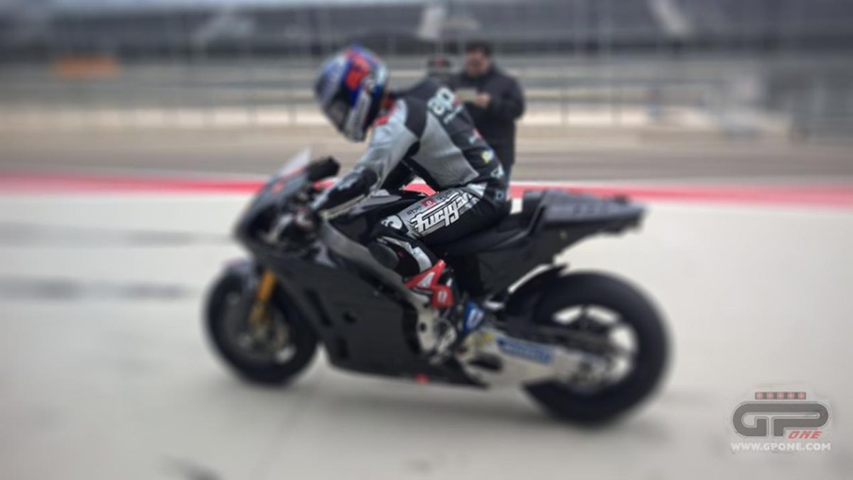 2016 Aprilia RS-GP Breaks Cover at Aragon Test