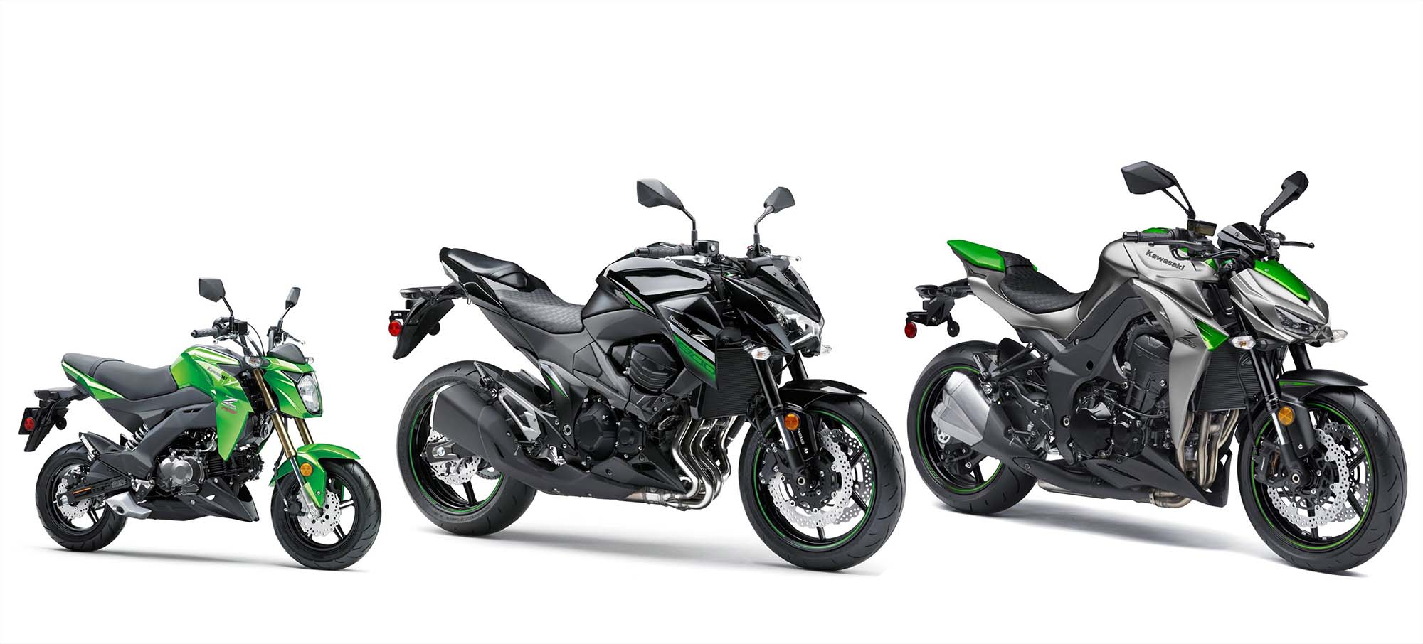Step Aside Honda Grom, Here's the 2017 Kawasaki Z125 Pro