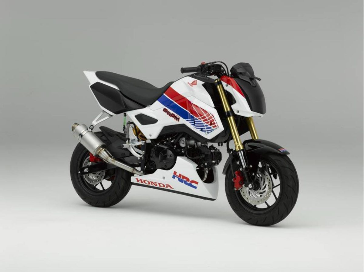You Already Want This Honda Grom Race Bike from HRC