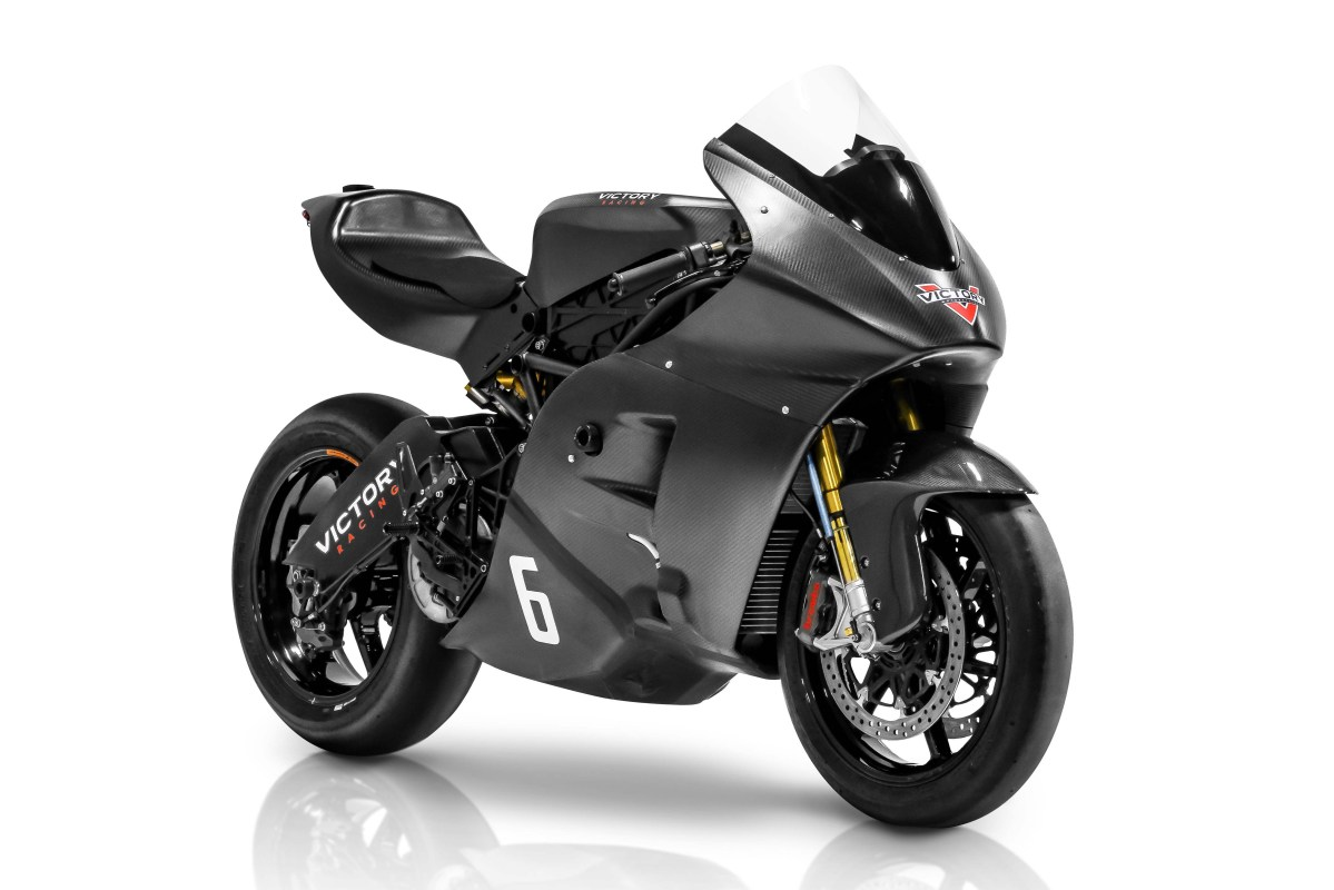Victory RR Electric Race Bike Debuts for the Isle of Man TT