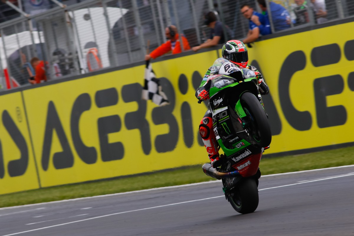 World Superbike Race Results from Donington Park – Race 1