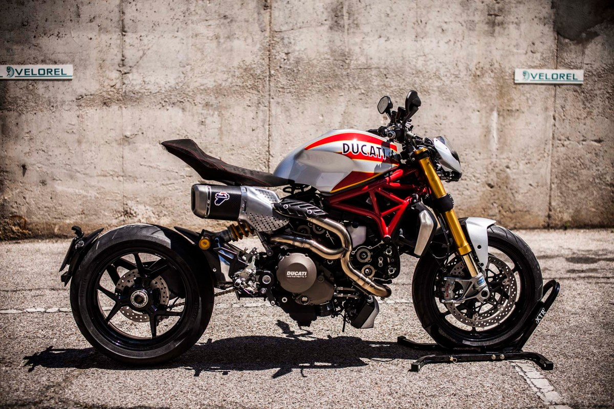"XTR Pepo's ""Siluro"" Custom Ducati Monster 1200"