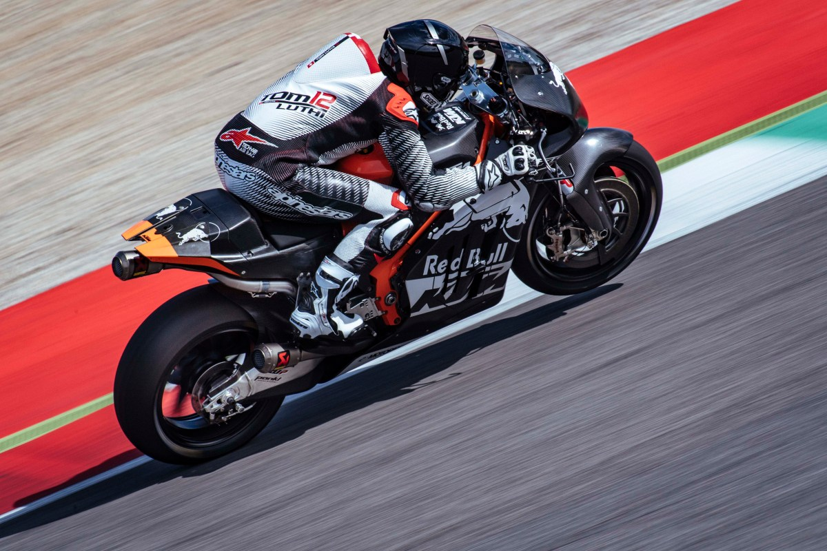 Here's a Sneak Peek of the KTM RC16's V4 Engine