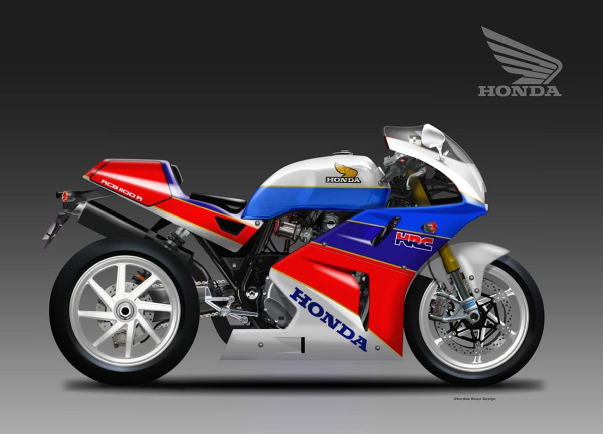 Honda CB1100R Concept by Oberdan Bezzi