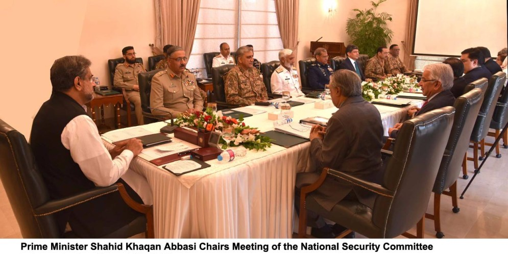 PM chairs meeting of the National Security Committee