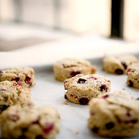 Power Packed Oat Scones: One healthy, the other healthier