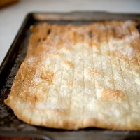 Crackers: Tarragon Crisps and Cracked Black Pepper
